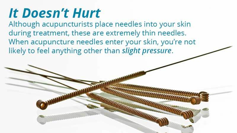 Does acupuncture hurt? Find out on the AIAM blog.