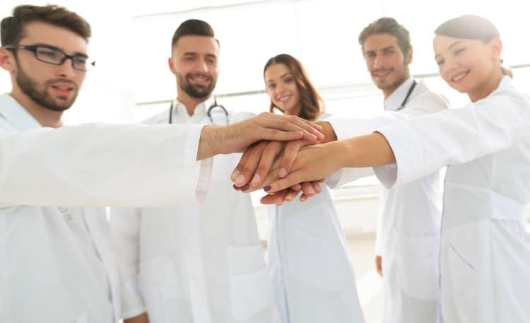 nursing men and women