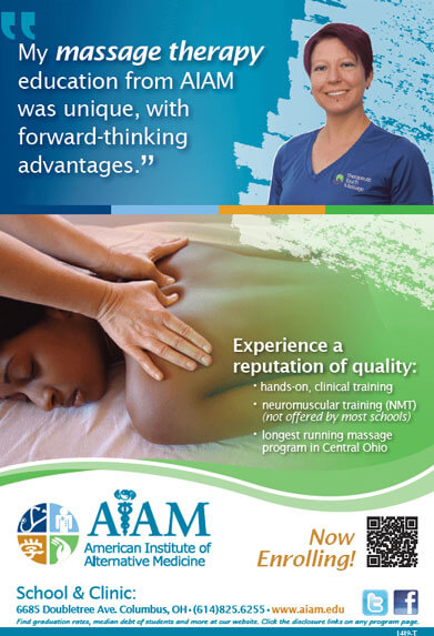AIAM Alumni and Licensed Massage Therapist Lisa Binkley